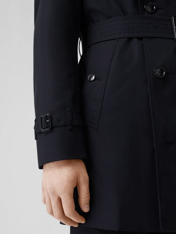 Short Chelsea Fit Trench Coat in Midnight Navy - Men | Burberry - cell image 1
