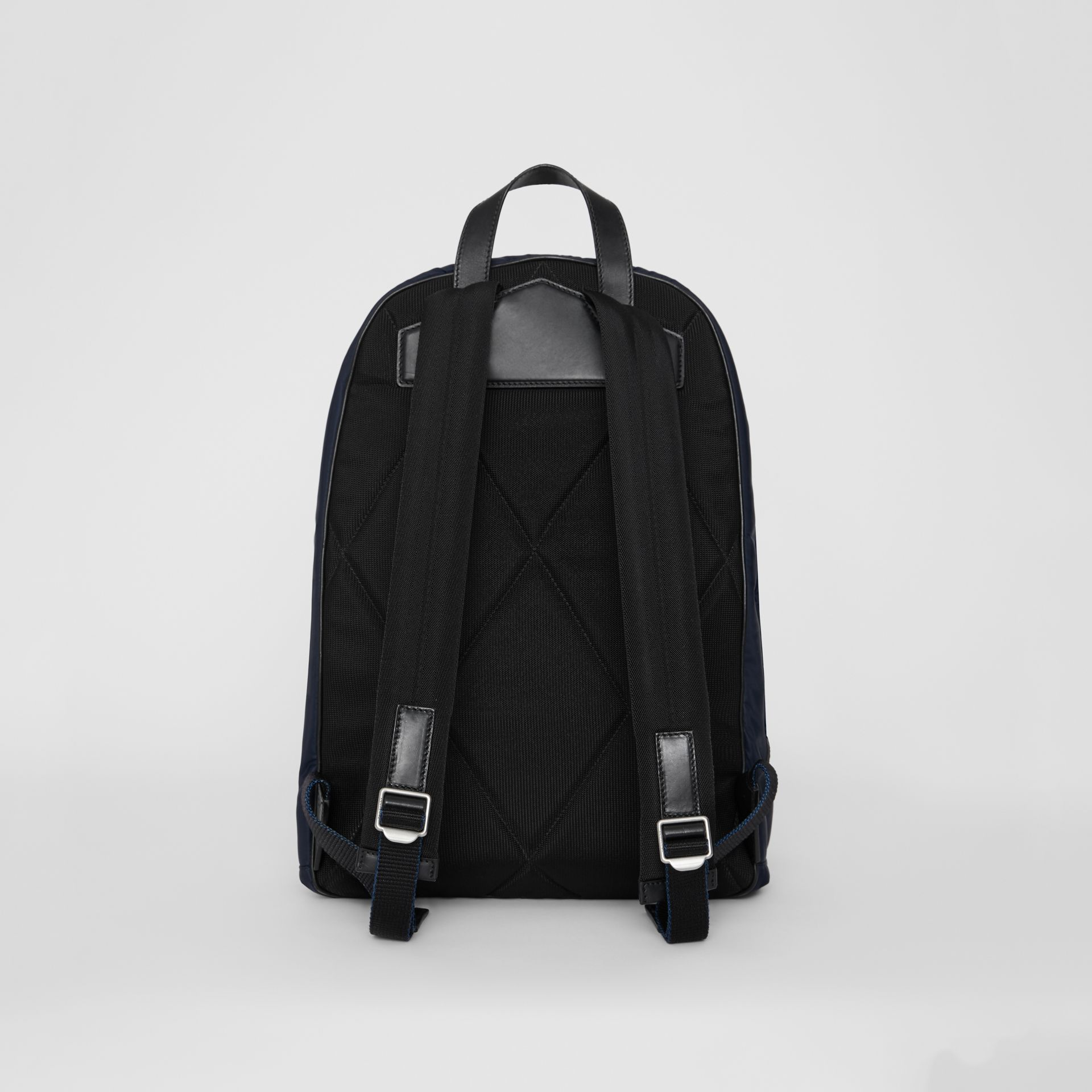 Large EKD Aviator Nylon Backpack in Ink Blue - Men | Burberry - gallery image 5
