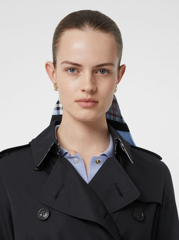 Trench Heritage The Kensington (Minuit) - Femme | Burberry - cell image 1