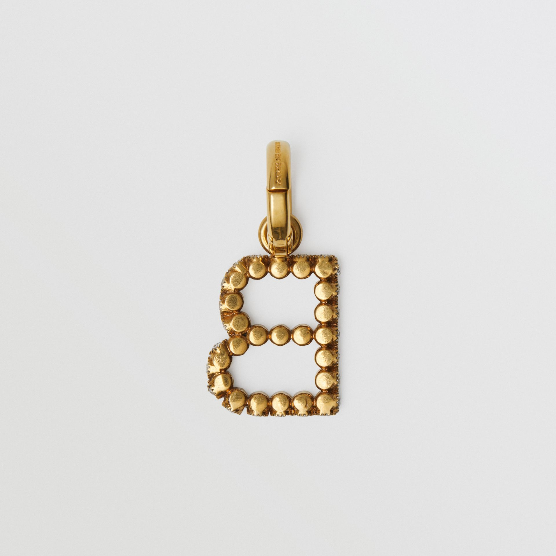 Crystal 'B' Alphabet Charm - Women | Burberry United Kingdom - gallery image 4