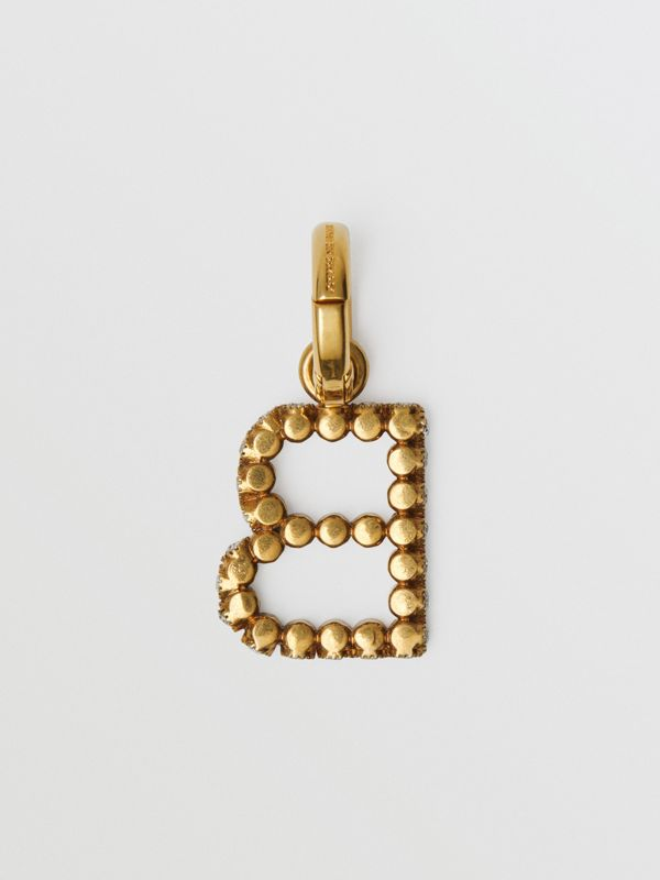 Crystal 'B' Alphabet Charm - Women | Burberry - cell image 2
