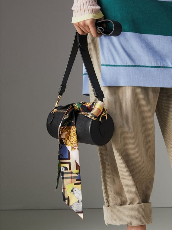 Archive Scarf Print Silk Slim Scarf in Multicolour - Women | Burberry United Kingdom - cell image 3