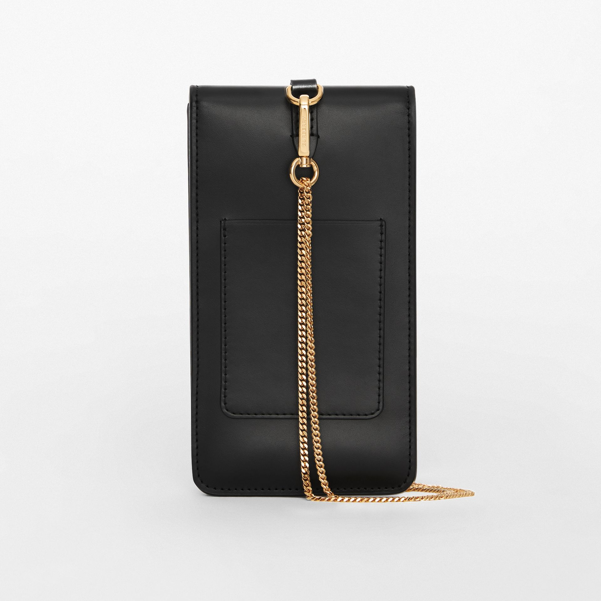 Horseferry Print Leather Phone Case Lanyard in Black - Women | Burberry - gallery image 5