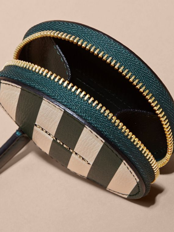 Pyjama Stripe London Leather Coin Case - cell image 3