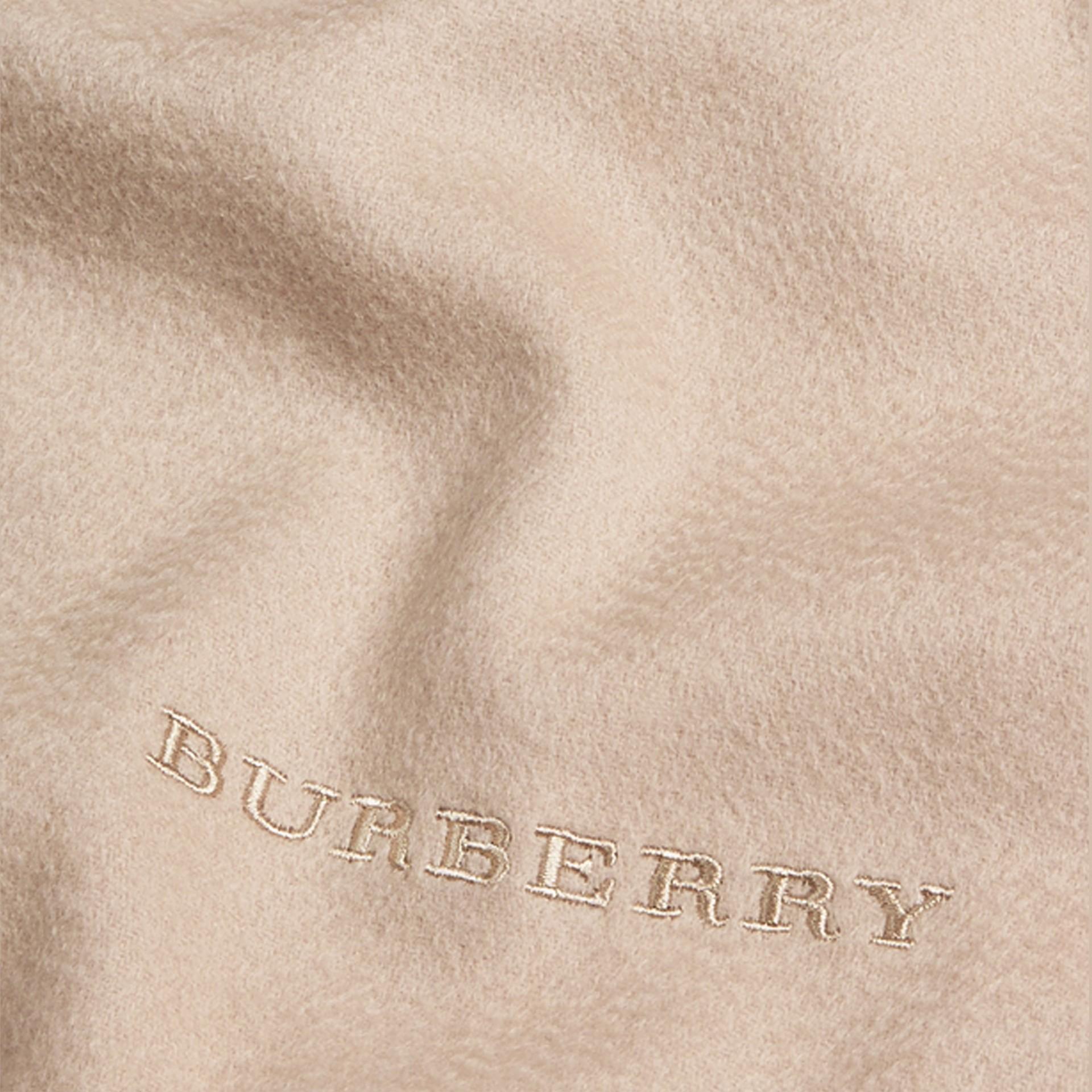 Pietra Sciarpa in cashmere classica Pietra - immagine della galleria 5