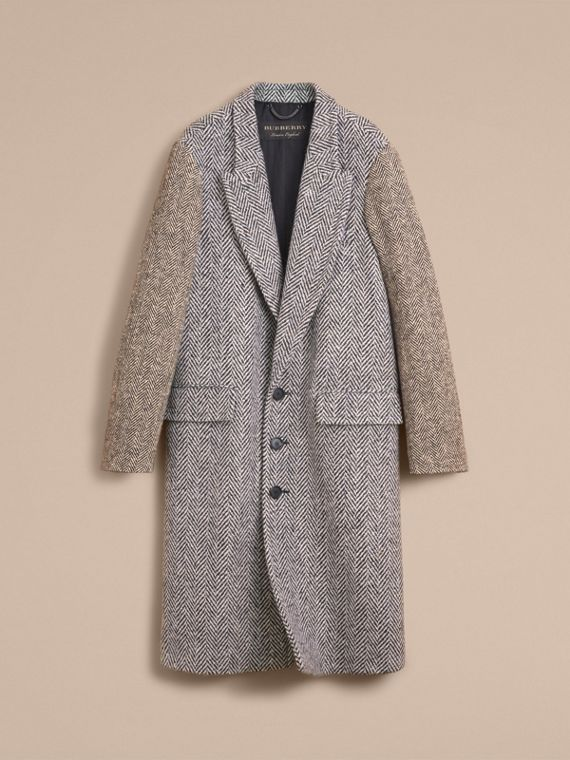 Donegal Herringbone Wool Tweed Chesterfield - Men | Burberry - cell image 3