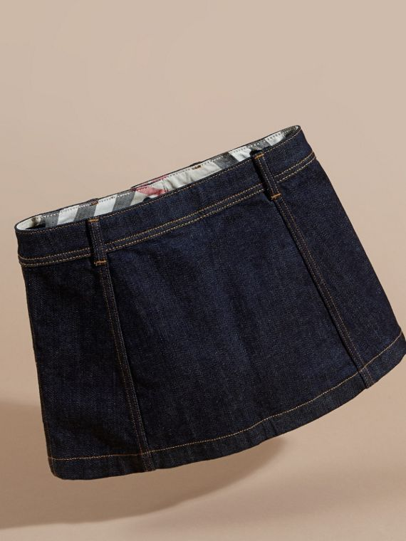 Denim A-line Skirt - cell image 3