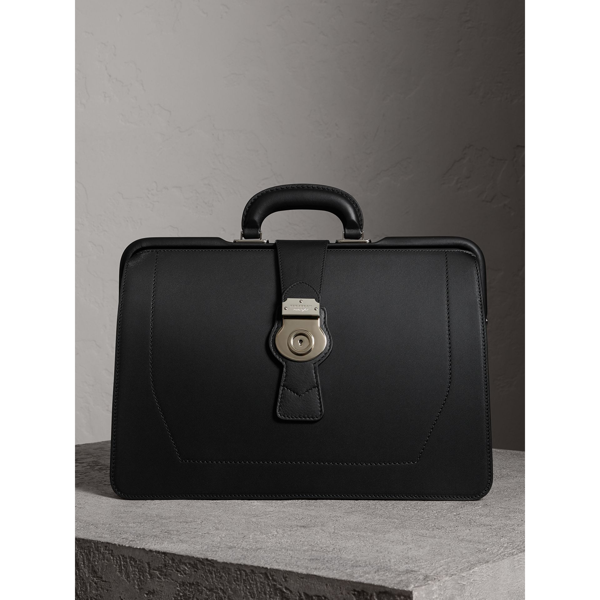 The DK88 Doctor's Bag in Black - Men | Burberry - gallery image 0