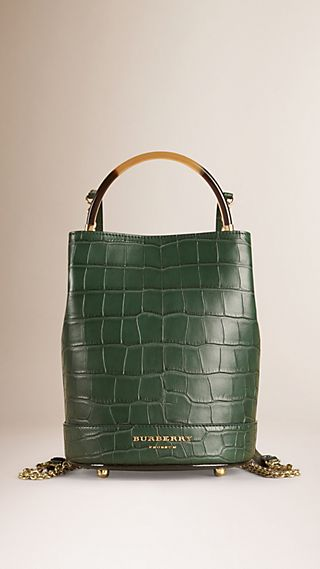 The Bucket Backpack in Alligator