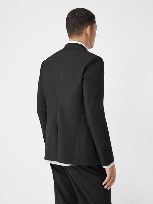 Veste de costume slim en nylon technique (Noir) - Homme | Burberry - cell image 2