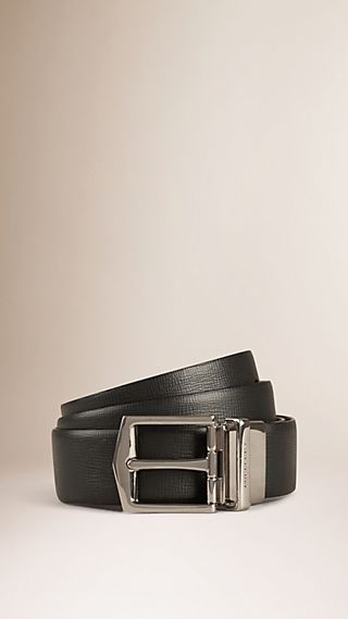 Reversible London Leather Belt