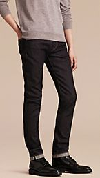 Slim Fit Stretch Japanese Selvedge Denim Jeans