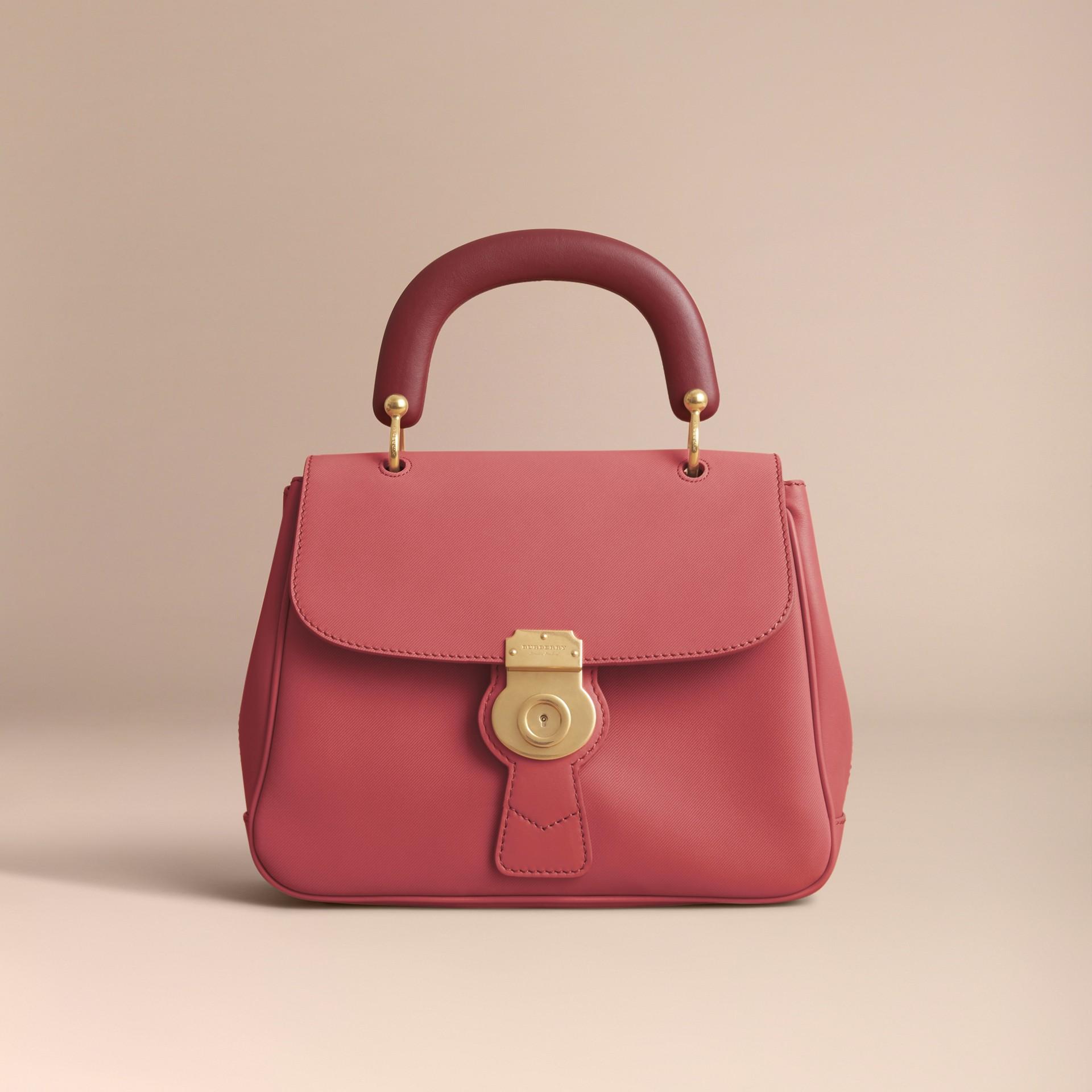 The Medium DK88 Top Handle Bag Blossom Pink - gallery image 6