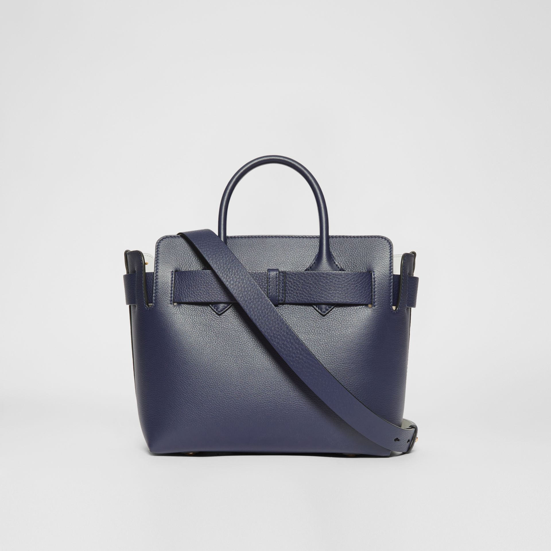 The Small Leather Triple Stud Belt Bag in Regency Blue - Women | Burberry Hong Kong S.A.R - gallery image 7