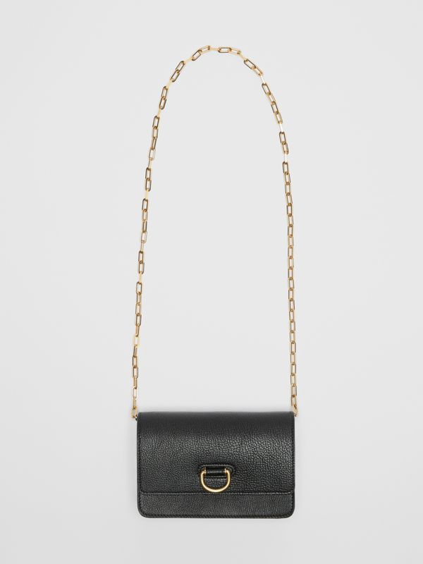 The Mini Leather D-ring Bag in Black - Women | Burberry United States - cell image 3