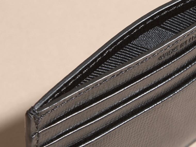 Noir Porte-cartes en cuir London Noir - cell image 4