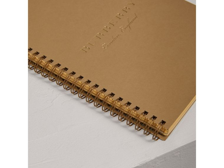 A5 Notebook Refill in Honey | Burberry United Kingdom - cell image 1