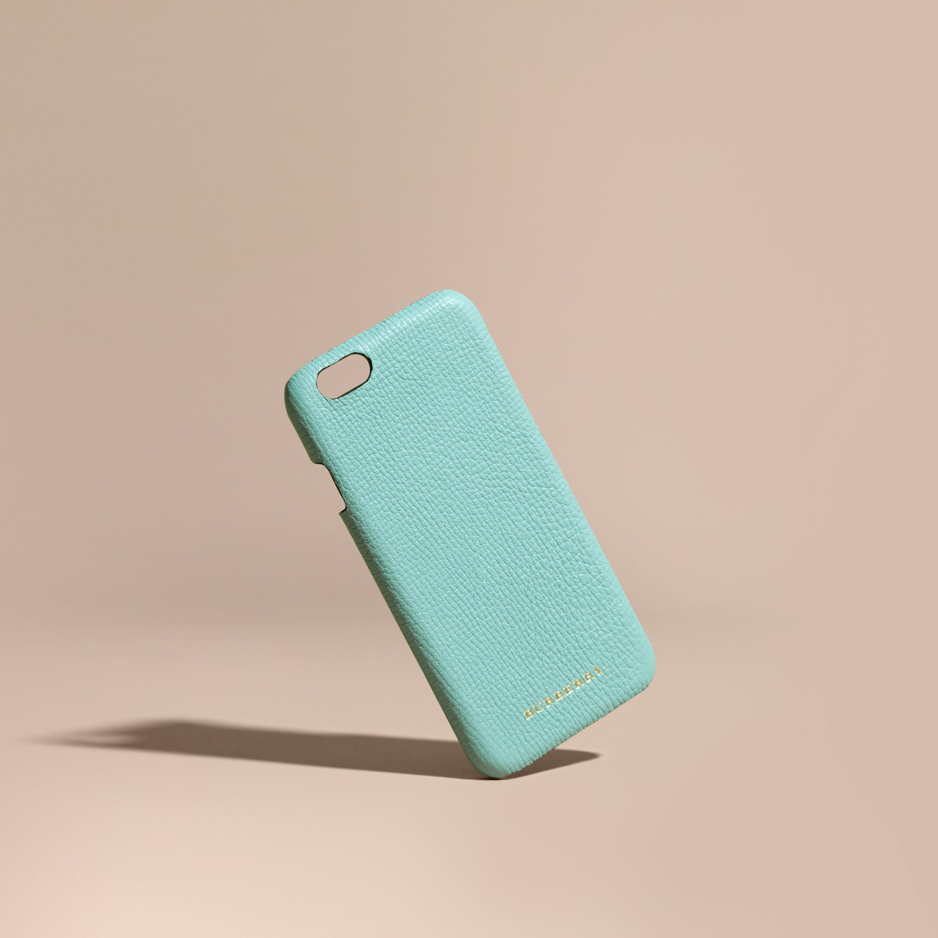 Grainy Leather iPhone 6 Case Pale Opal - gallery image 1