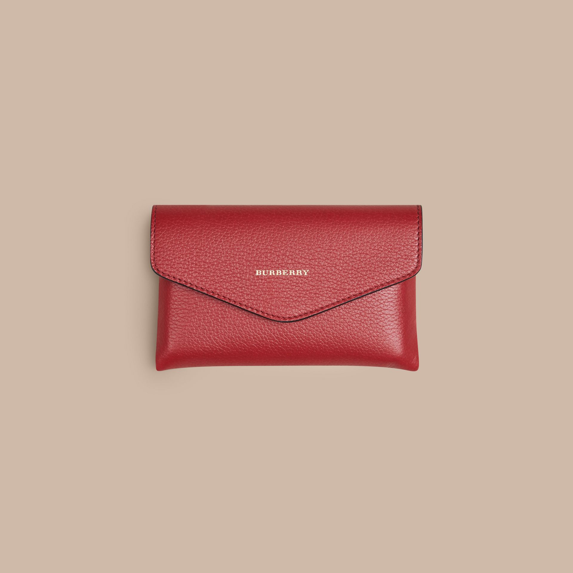 Wooden Domino Set with Grainy Leather Case in Parade Red | Burberry - gallery image 3