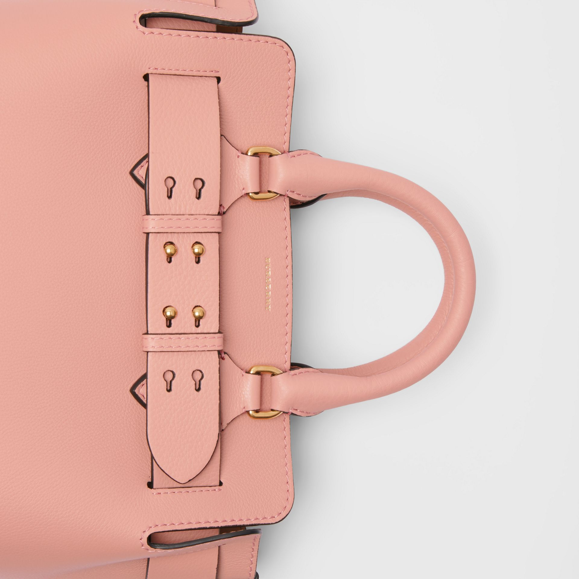 The Small Leather Belt Bag in Ash Rose - Women | Burberry United Kingdom - gallery image 1