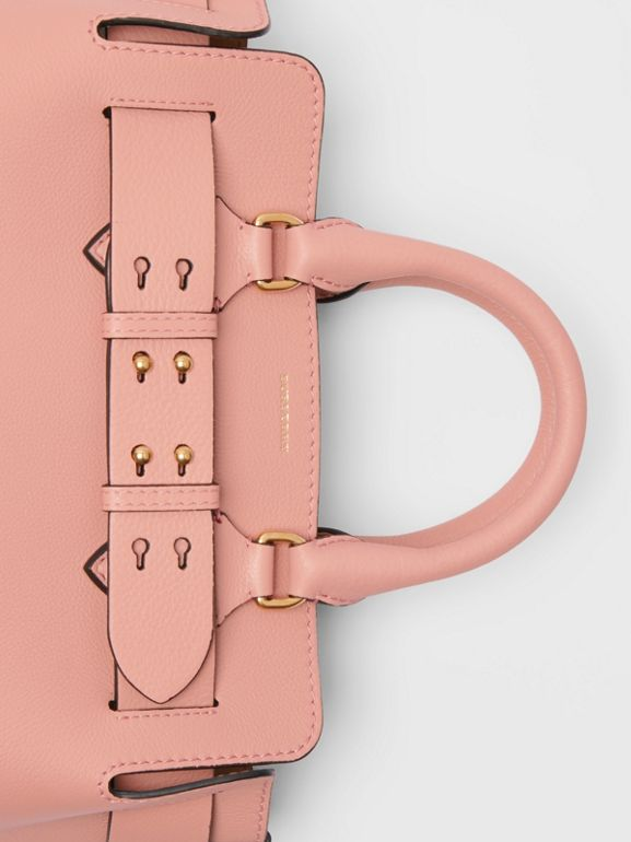 The Small Leather Belt Bag in Ash Rose - Women | Burberry Singapore - cell image 1