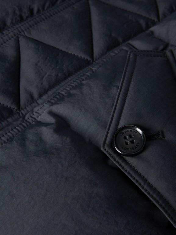 Пальто на пуху со съемным капюшоном (Черный) | Burberry - cell image 1