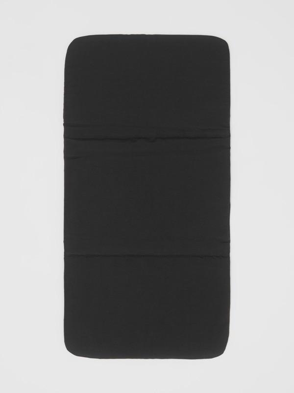 レザートリム ナイロン ベイビーチェンジング バックパック (ブラック) - チルドレンズ | バーバリー - cell image 3