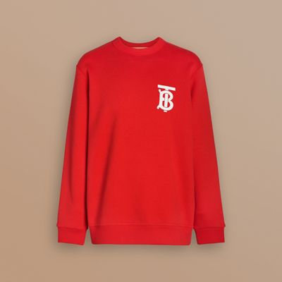 Monogram Motif Sweatshirt by Burberry