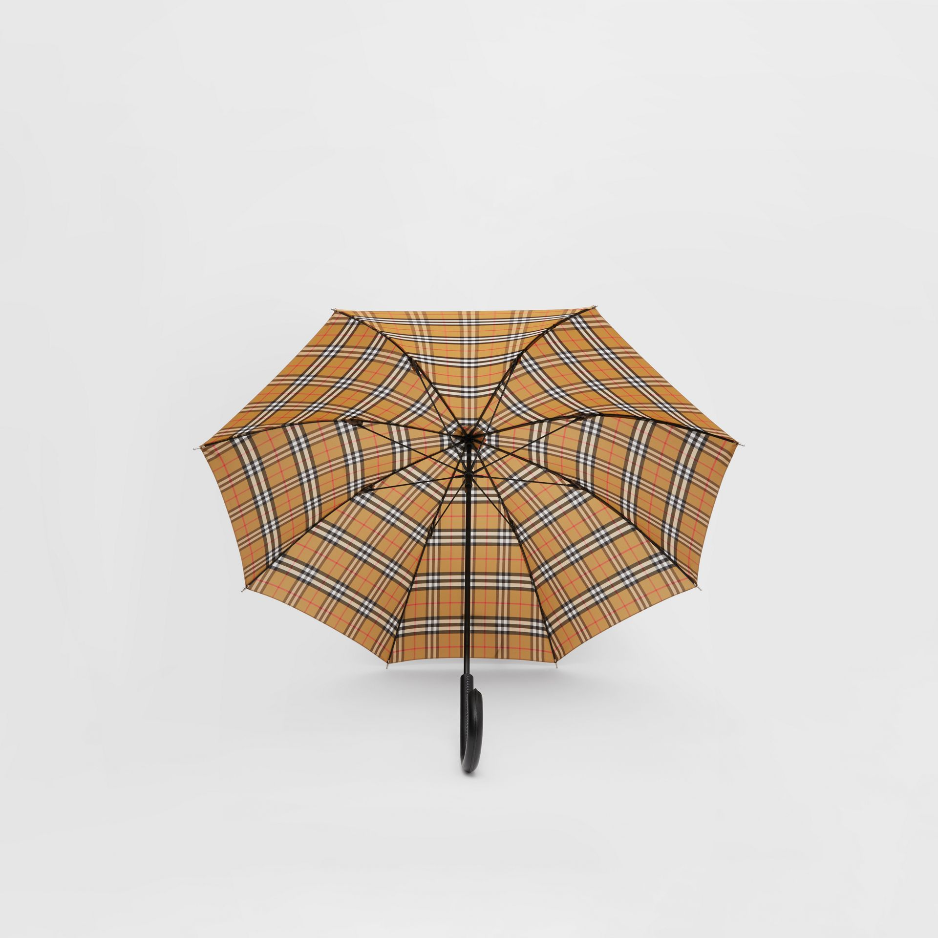 Vintage Check Umbrella in Archive Beige | Burberry Hong Kong S.A.R - gallery image 2