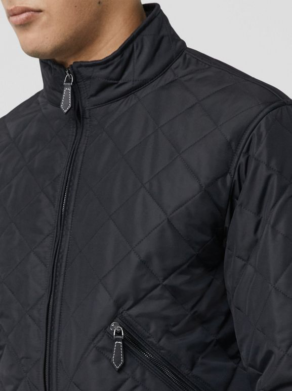 Thermoregulierende Jacke in Rautensteppung (Marineblau) - Herren | Burberry - cell image 1