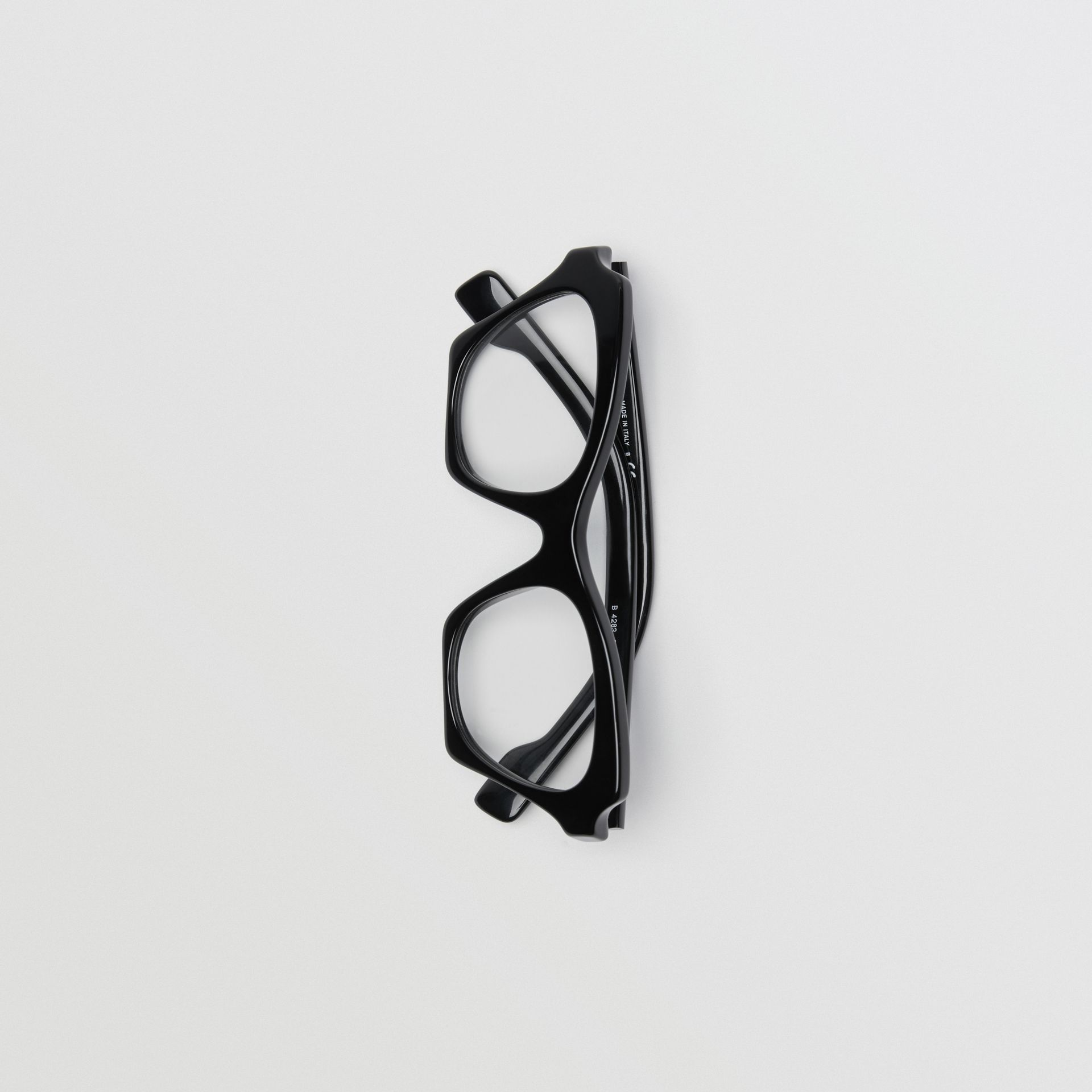 Butterfly Optical Frames in Black - Women | Burberry Singapore - gallery image 3