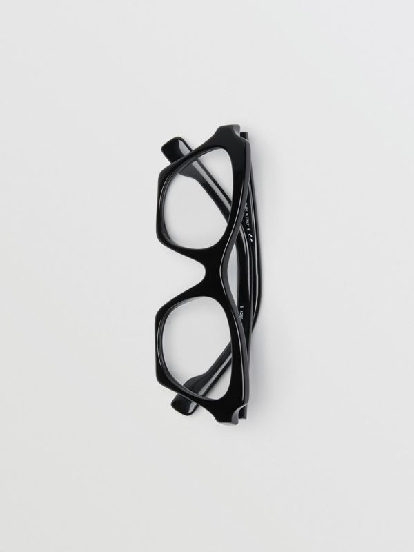 Butterfly Optical Frames in Black - Women | Burberry Singapore - cell image 3
