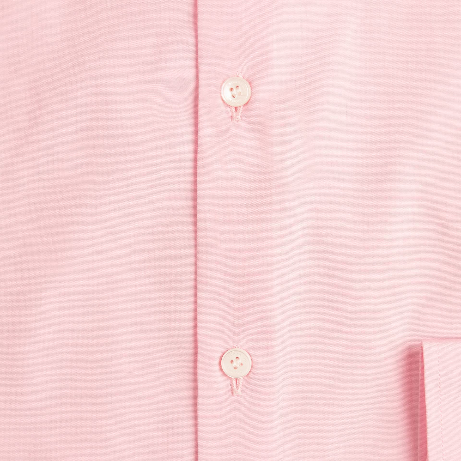 City pink Slim Fit Cotton Poplin Shirt - gallery image 2