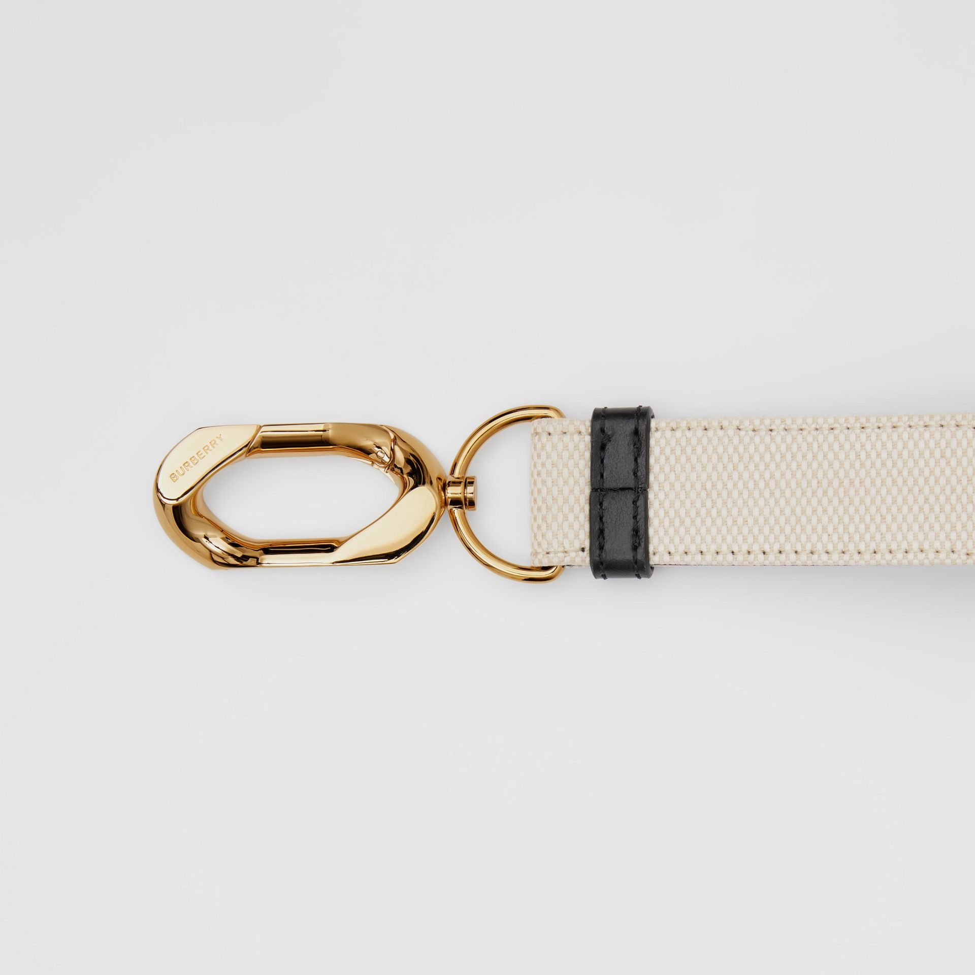 Horseferry Print Cotton Canvas Charm in White - Women | Burberry Canada - gallery image 1