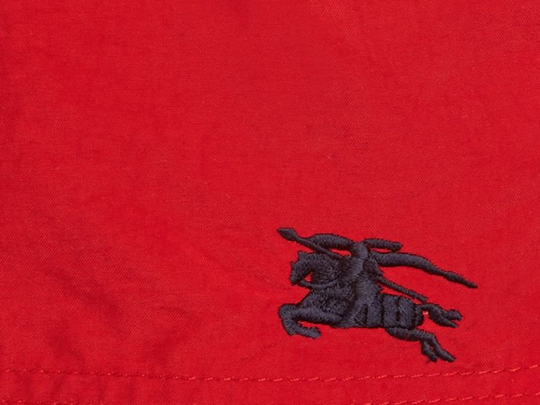 Lightweight Swim Shorts in Military Red - cell image 1