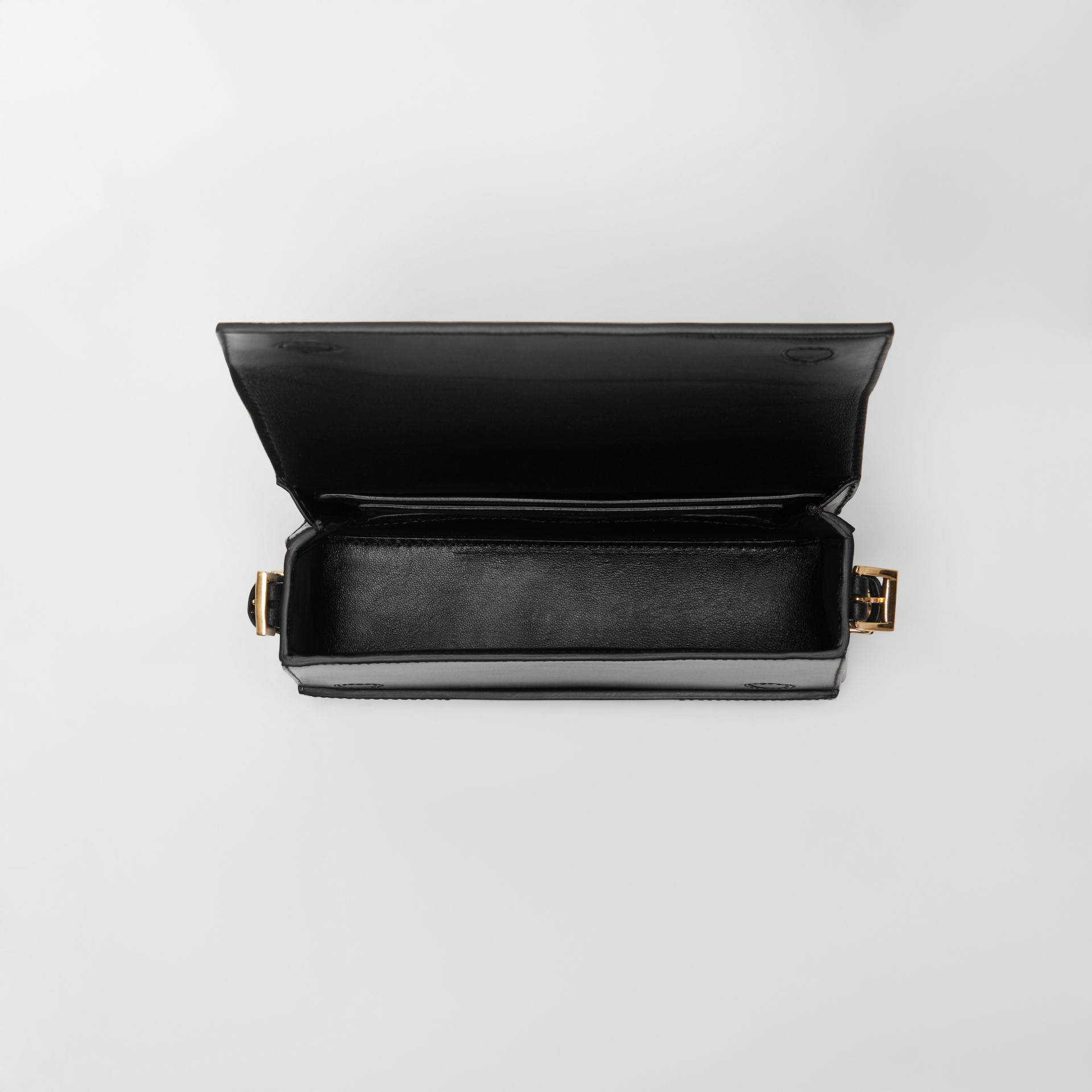 Small Leather Grace Bag in Black - Women | Burberry United Kingdom - gallery image 4