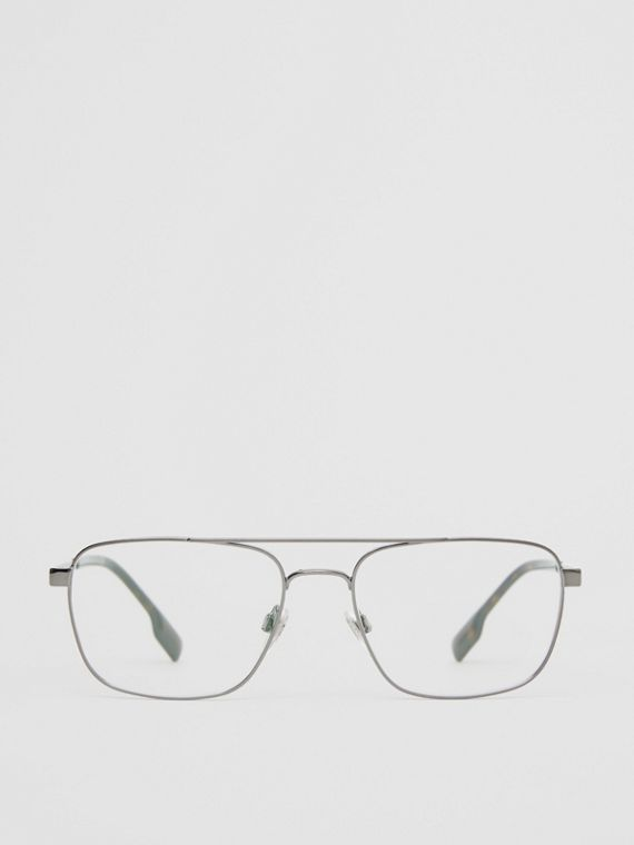 Rectangular Navigator Optical Frames in Dark Grey