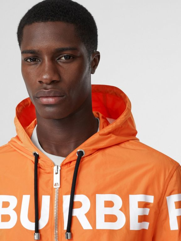 Veste à capuche en nylon Horseferry (Orange Vif) - Homme | Burberry - cell image 1