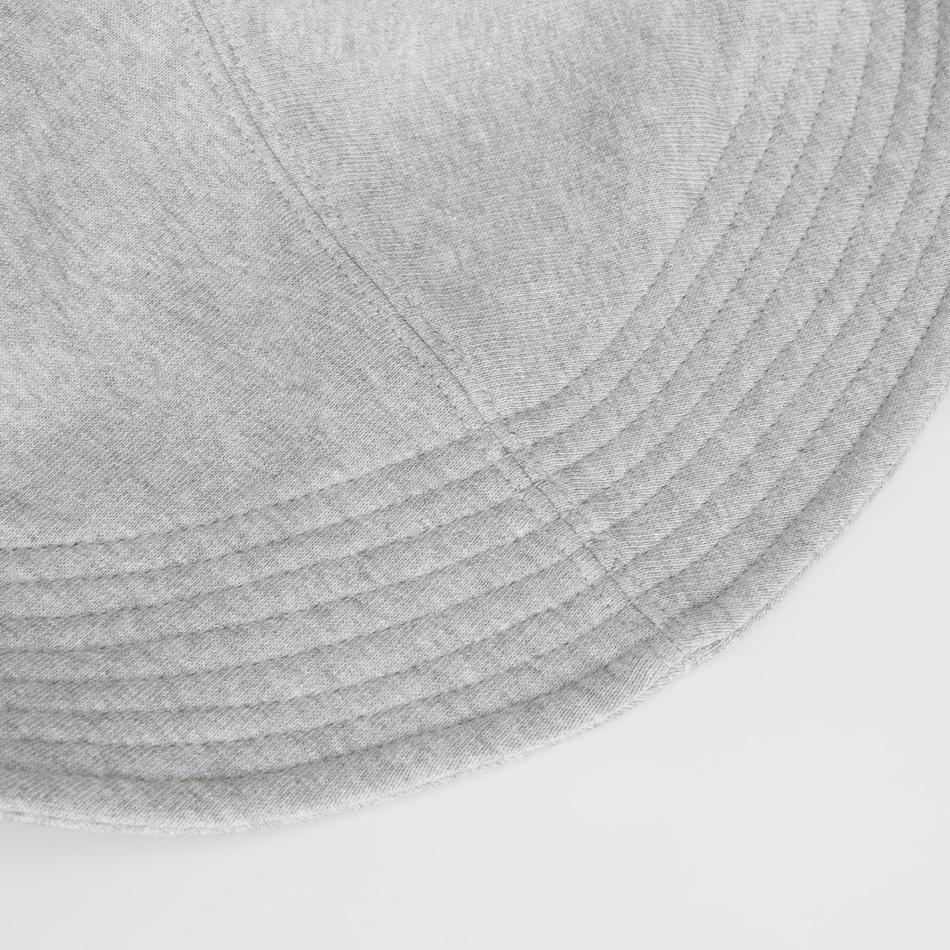 Monogram Motif Rain Hat in Light Grey Melange - Men | Burberry - gallery image 4