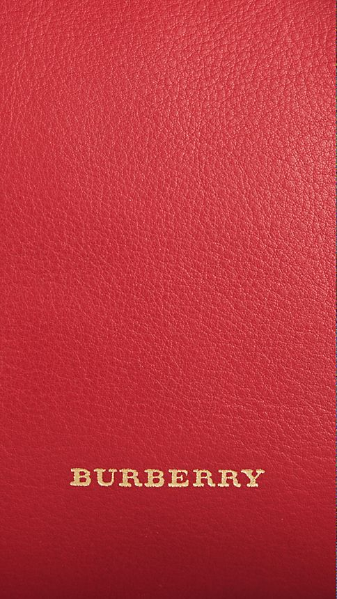 Parade red The Small Alchester in Leather - Image 6