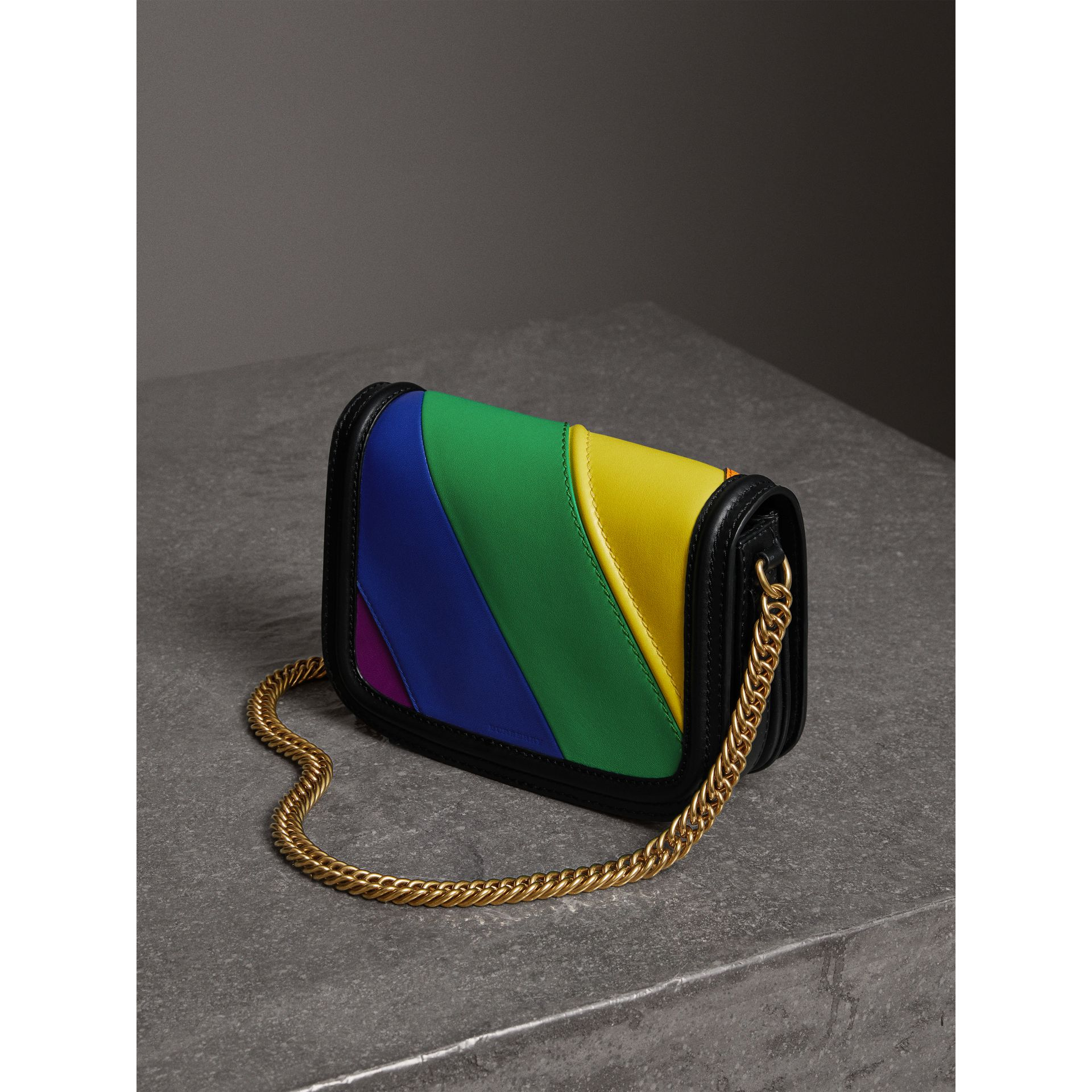 The Rainbow Leather Link Bag - Women | Burberry - gallery image 5