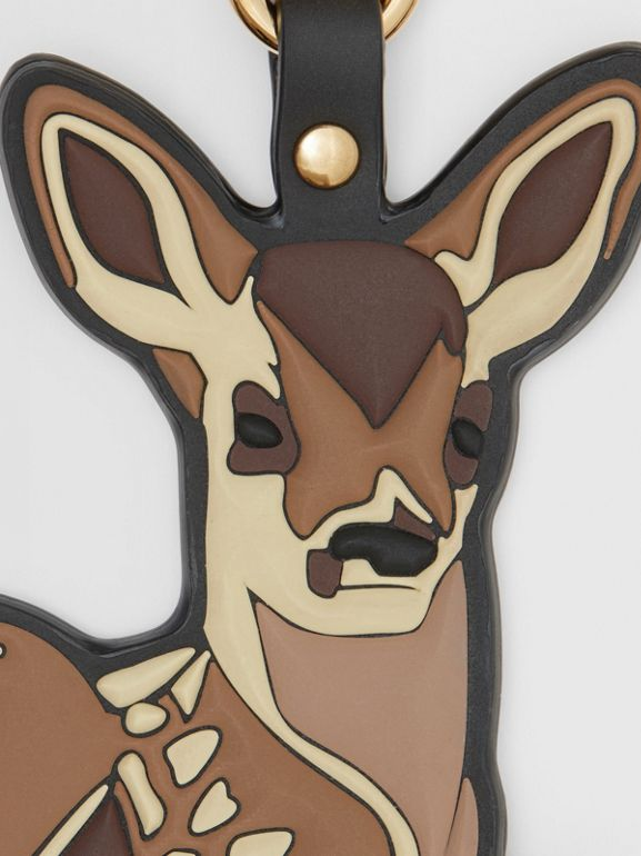 Deer Charm in Brown/multicoloured | Burberry - cell image 1