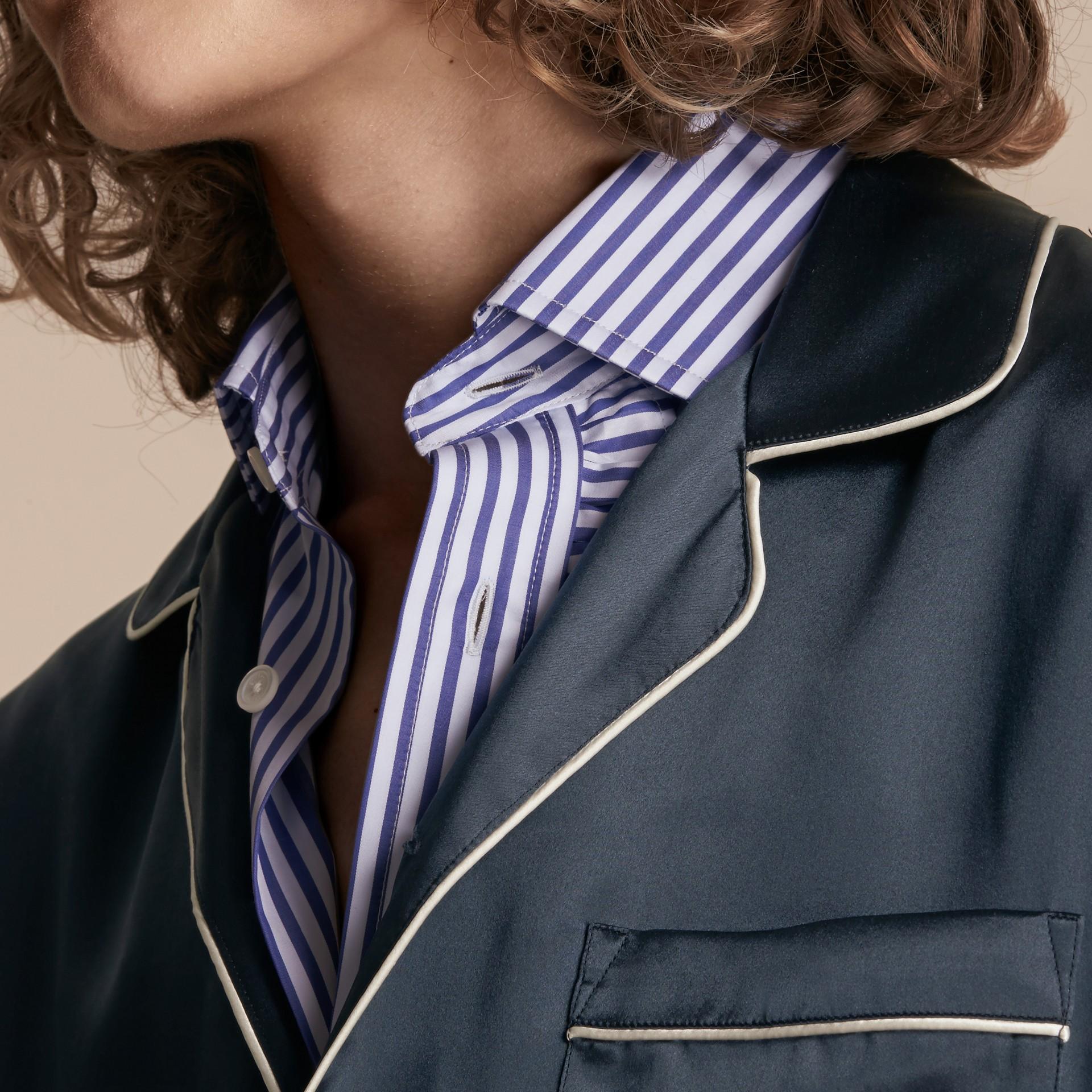 Silk Pyjama-style Shirt - gallery image 5
