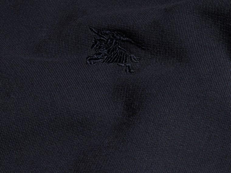 Marine Sweat-shirt en jersey de coton mélangé Marine - cell image 1