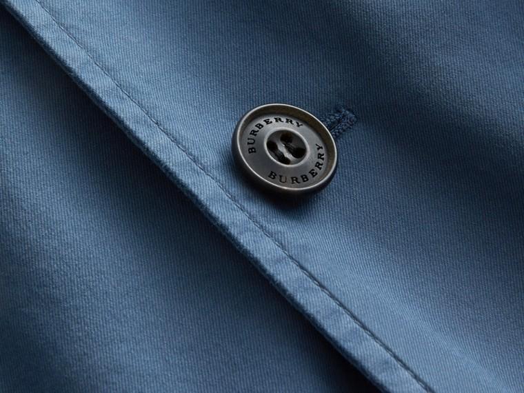 Slim Fit Stretch-cotton Blazer Navy - cell image 1