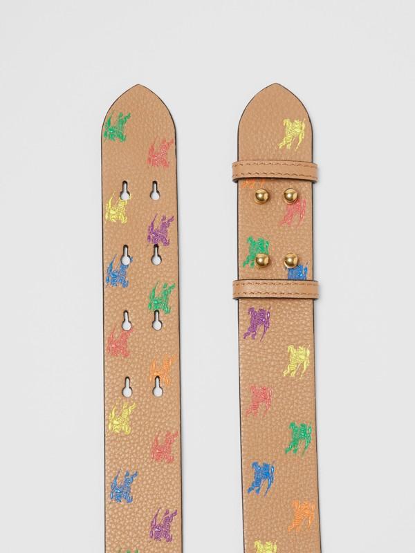 Ledergürtel mit Ritteremblem für The Medium Belt Bag (Helles Camelfarben) - Damen | Burberry - cell image 2