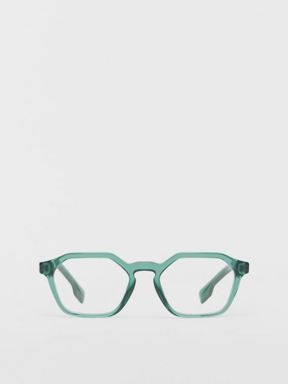 Geometric Optical Frames in Green