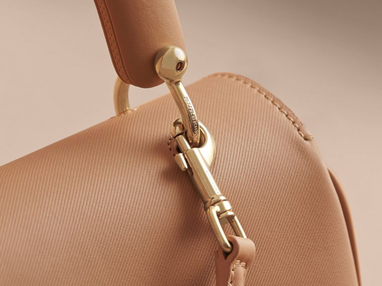 The Medium DK88 Top Handle Bag Honey - cell image 1