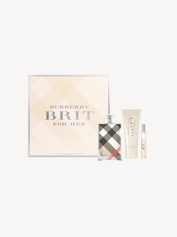 Burberry Brit for Her Festive Luxury Set in No Colour