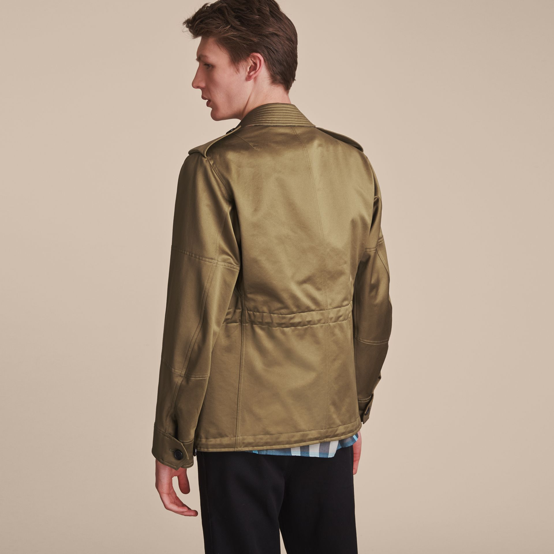 Cotton Field Jacket with Detachable Warmer - gallery image 3